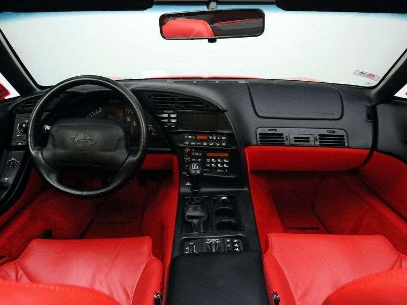 Chevrolet Corvette C4 [2nd restyling] ZR1 targa 5.7 MT (1991–1996)