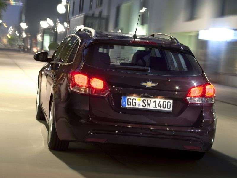 Chevrolet Cruze J300 [restyling] 5 speed wagon. 1.6 MT LS (2012 – n. In.)