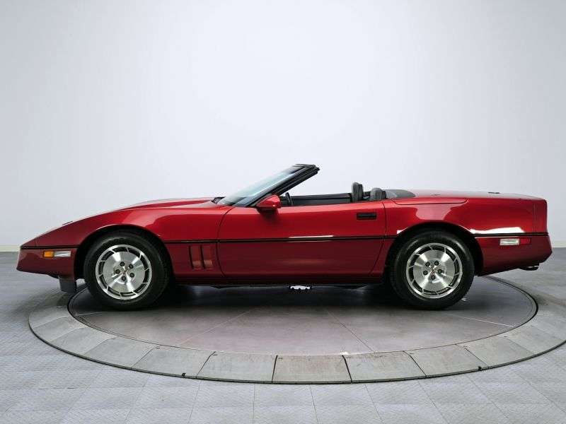 Chevrolet Corvette C4 [restyling] roadster 5.7 AT (1988–1988)
