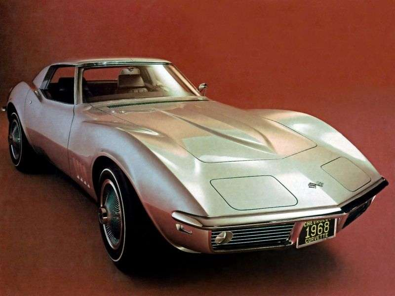 Chevrolet Corvette C3 Sting Ray Targa 5.4 Turbo Hydra Matic (1968–1968)