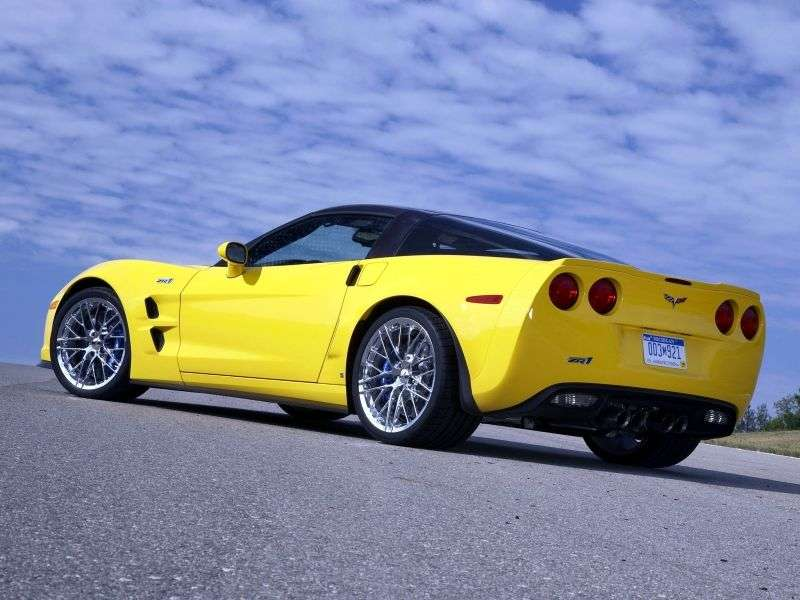Chevrolet Corvette C6 [restyling] ZR1 Targa 2 dv. 6.2 MT (2009–2013)