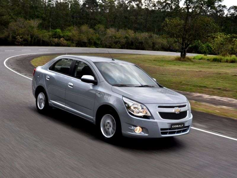Chevrolet Cobalt 2nd generation sedan 1.4 FlexFuel MT (2012 – n.)