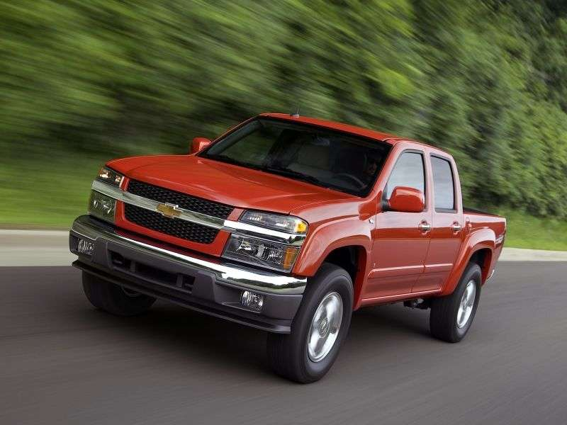 Chevrolet Colorado 1st generation Crew Cab pick up 4 bit. 2.9 AT (2007–2013)