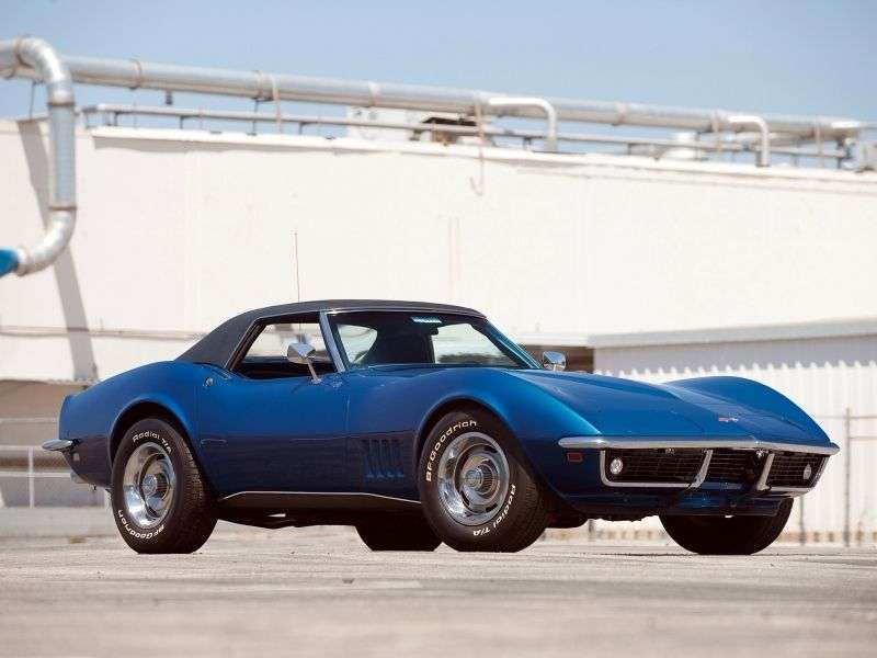 Chevrolet Corvette C3Sting Ray Convertible 7.0 Special MT (1968–1968)