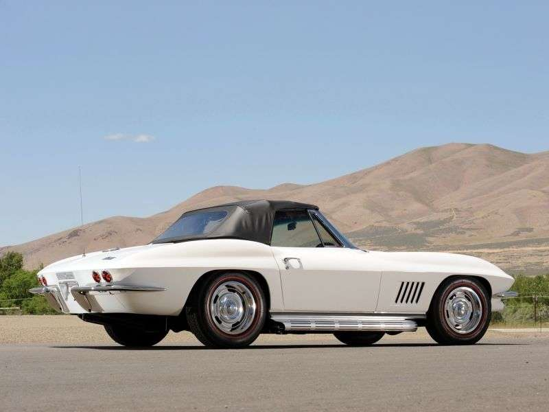 Chevrolet Corvette C2 [4th restyling] Sting Ray Convertible 5.4 Powerglide (1967–1967)