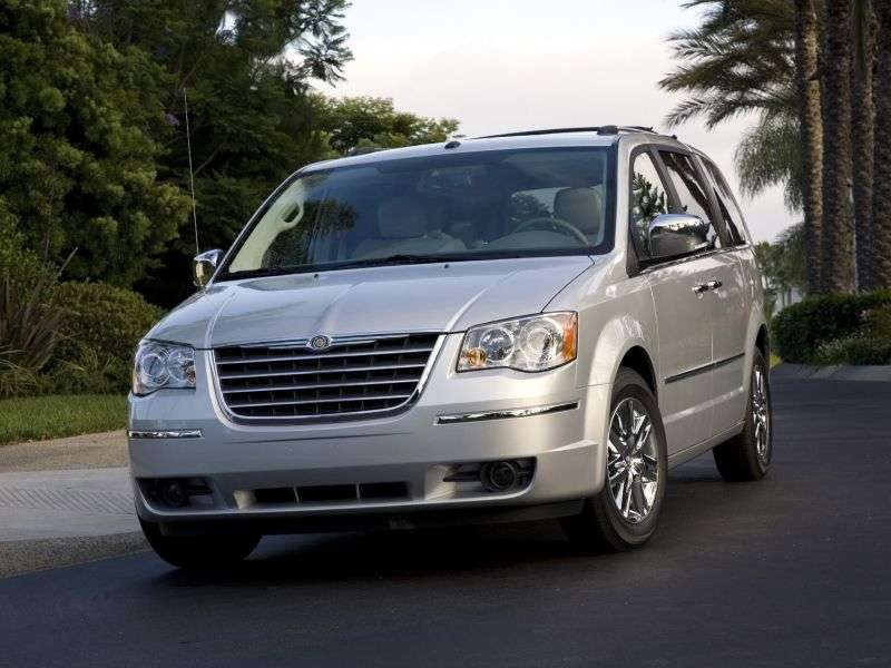 Chrysler Grand Voyager 5th generation minivan 3.6 AT LIMITED (2012) (2011 – n.)
