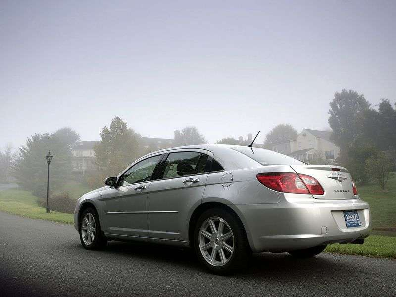 Chrysler Sebring 3rd generation 3.5 AT saloon (2007 – current century)