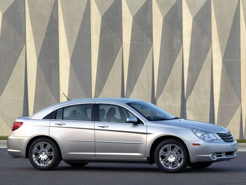 Chrysler Sebring 3rd generation 2.7 AT sedan (2007 – current century)