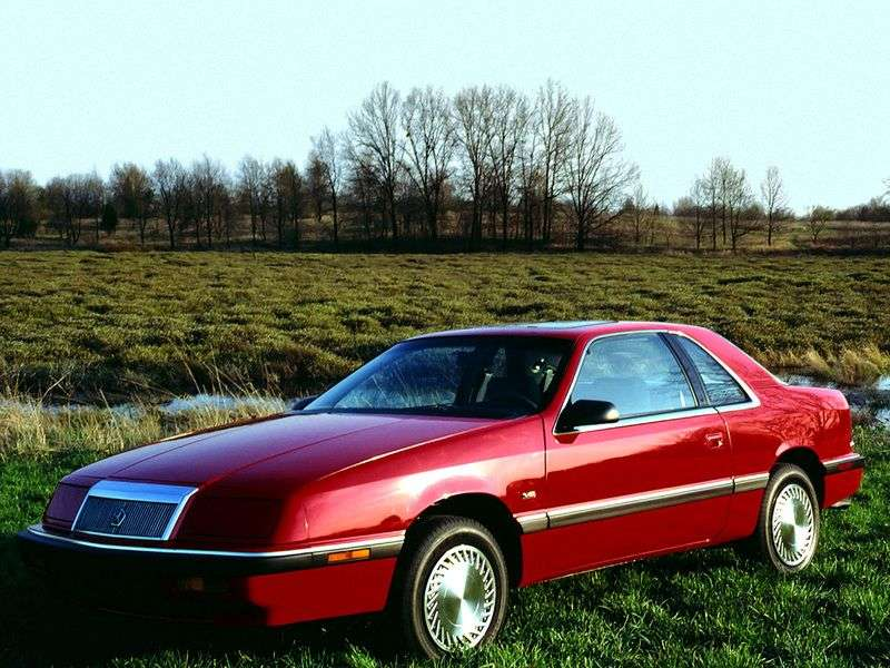 Chrysler LeBaron 3rd generation coupe 2.5 AT (1989–1994)