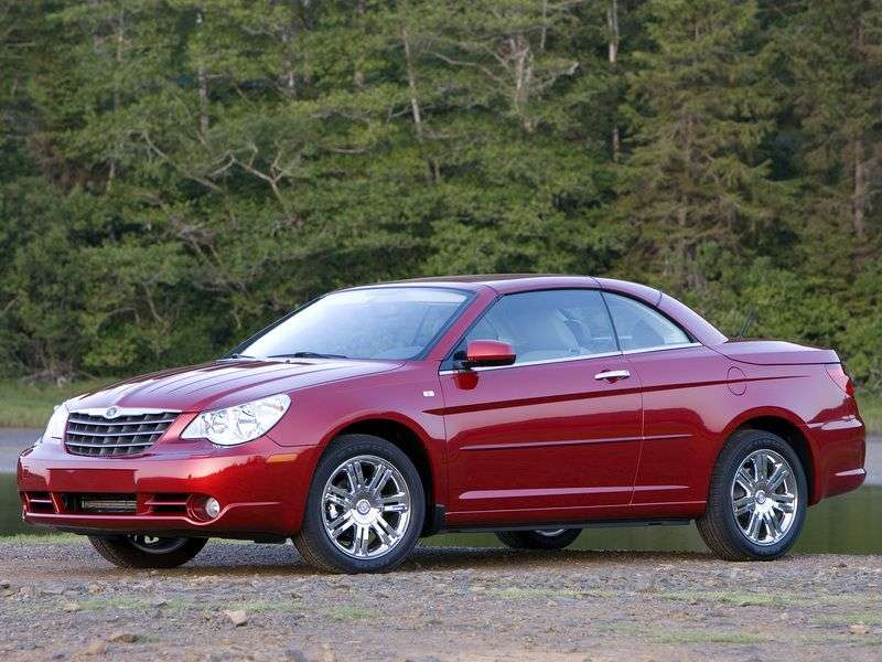 Chrysler Sebring 3rd generation convertible 2.0 MT (2007–2010)