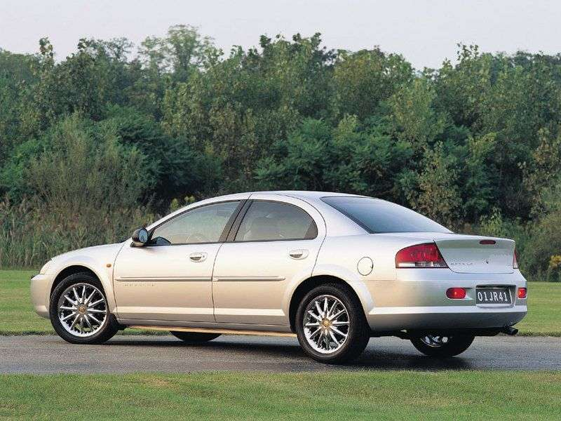 Chrysler Sebring 2nd generation sedan 2.0 AT (2001–2006)