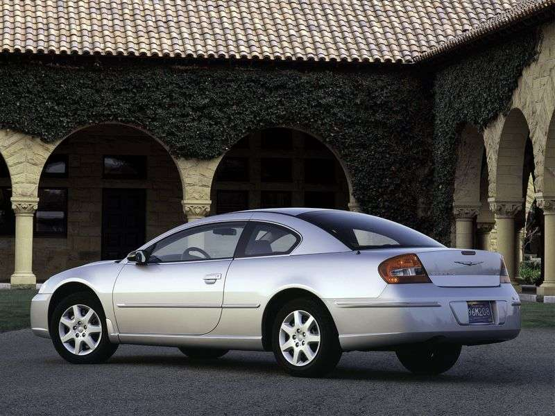 Chrysler Sebring 2nd generation coupe 2.4 AT (2001–2005)