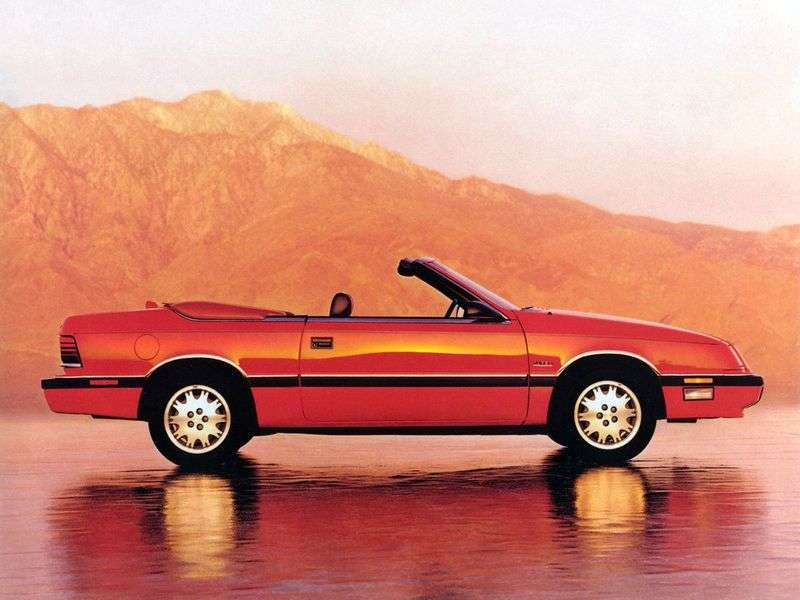Chrysler LeBaron 3rd generation 3.0 MT convertible (1989–1995)