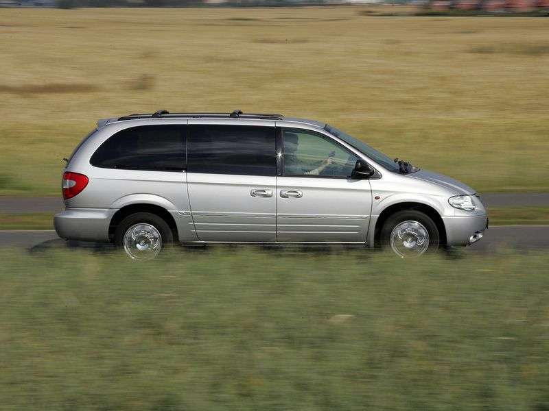 Chrysler Grand Voyager 4th generation minivan 2.5 D MT (2001–2007)