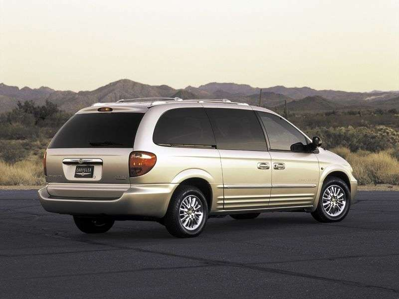 Chrysler Town and Country 4th generation minivan 3.8 AT (2001–2007)