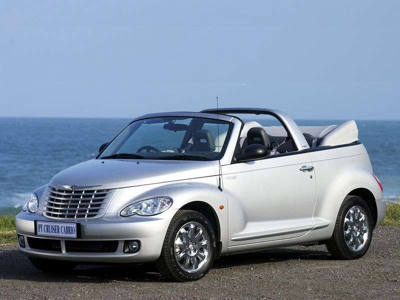 Chrysler PT Cruiser 2nd generation Convertible 2.4 AT (2006–2010)