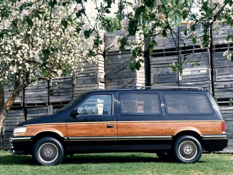 Chrysler Town and Country 2nd generation minivan 3.3 AT (1990–1993)
