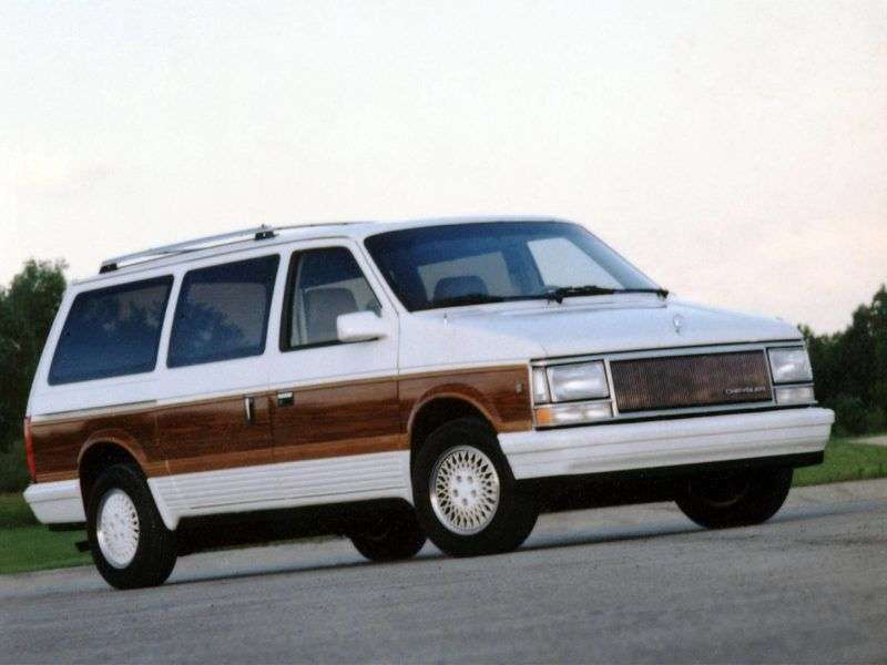 Chrysler Town and Country 2nd generation minivan 3.8 AT (1994–1995)