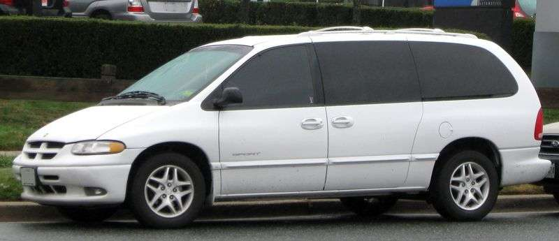 Chrysler Grand Voyager 3 generation minivan 3.3 AT (1995–2000)