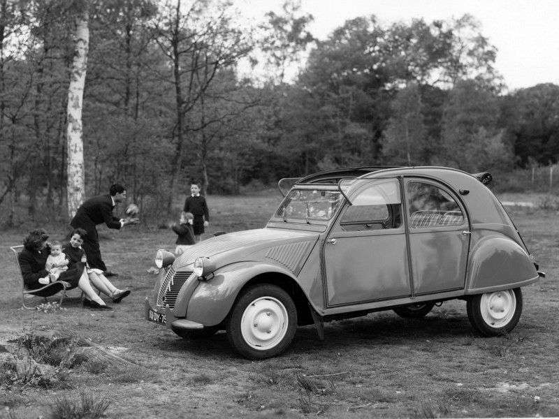 Citroen 2 CV Convertible 1.generacji 0.4 MT (1954 1960)