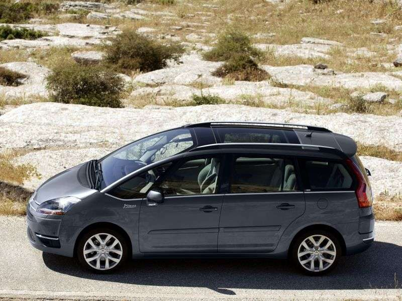 Citroen C4 Picasso 1st generation Grand 5 in minivan minivan 1.6 MT Dynamique (2012) (2006–2013)