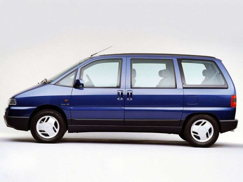 Citroen Evasion 1st generation minivan 2.0 Turbo MT (1994–1997)