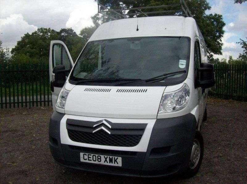 Citroen Jumper 2nd generation van 2.2 Hdi MT FgTi35 L3H2 Basic (2011) (2006 – present)