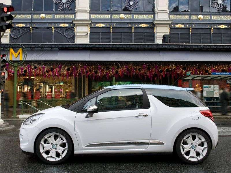 Citroen DS3 1st generation hatchback 1.4 VTi MT Chic (2012) (2010 – n.)