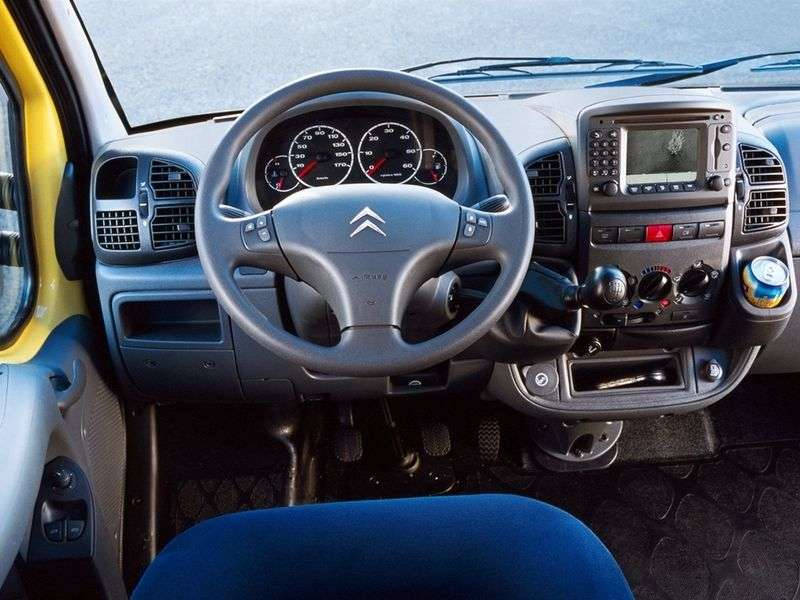 Citroen Jumper 1st generation van 33M 2.8 HDi MT (2002–2006)