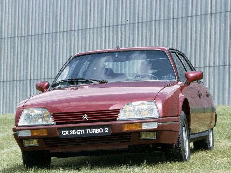 Citroen CX 2 generation hatchback 2.5 GTi MT (1986–1992)