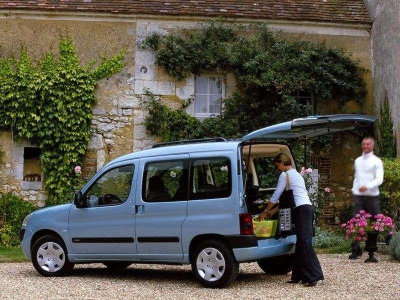 Citroen Berlingo 1st generation [restyling] First minivan 1.4 MT Standard (2002–2012)