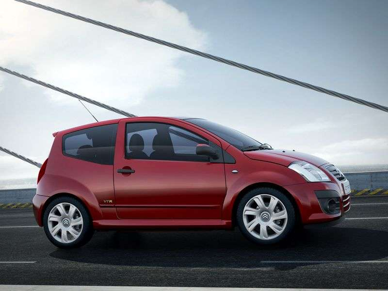 Citroen C2 1st generation [restyled] hatchback 1.4 AT (2008–2009)