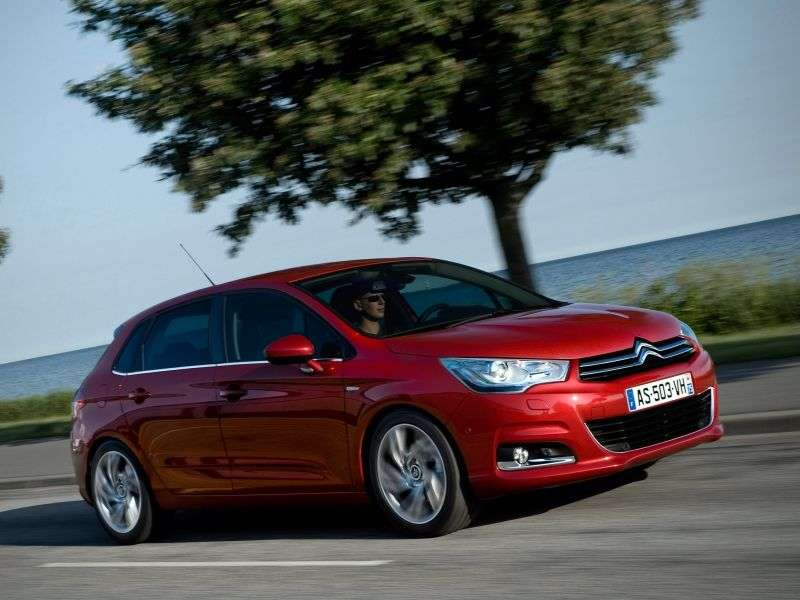 Citroen C4 2nd generation hatchback 1.6 VTi AT Optimum (French assembly) (2012) (2011 – n.)