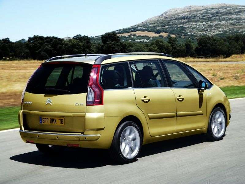 Citroen C4 Picasso 1st generation Grand 5 in minivan minivan 1.6 THP AMT eMyWay Dynamique (2012) (2012–2013)