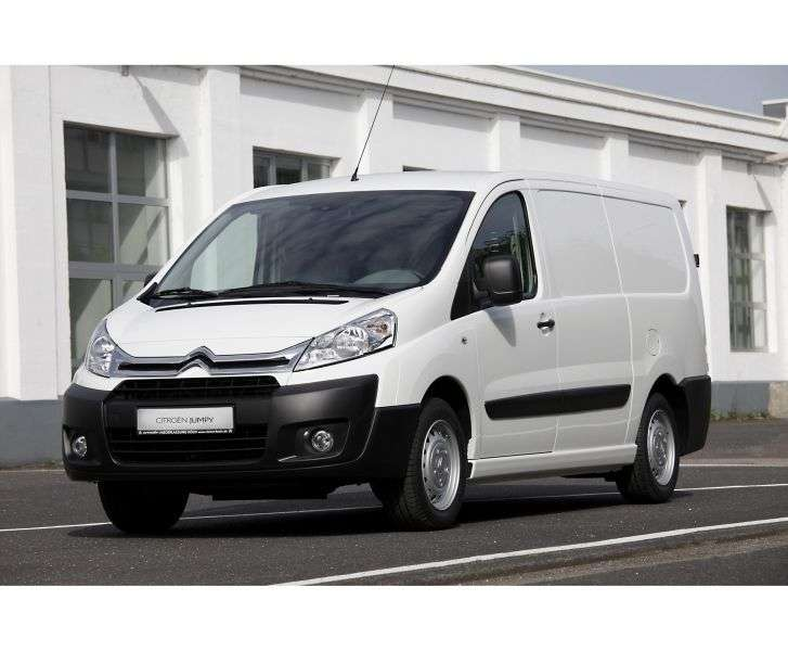 Citroen Jumpy 2nd generation van 2.0 HDI MT L2H1 Basic (2013 – v.)