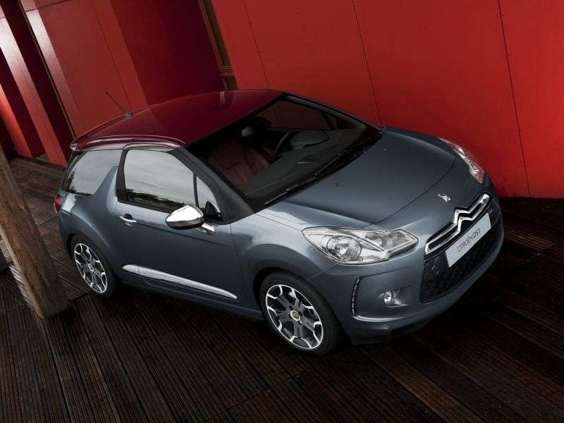 Citroen DS3 1st generation hatchback 1.6 VTi AT Ultra Prestige (2012) (2010 – current century)