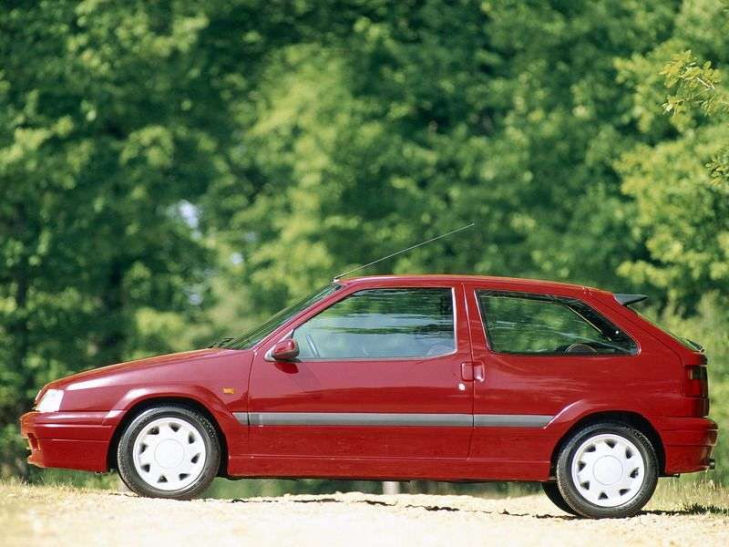 Citroen ZX 1 generation hatchback 3 dv. 1.9 MT (1991–1997)