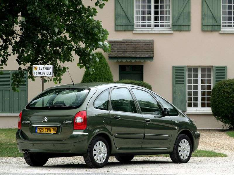 Citroen Xsara Picasso 2nd generation minivan 1.6 MT (2000–2009)