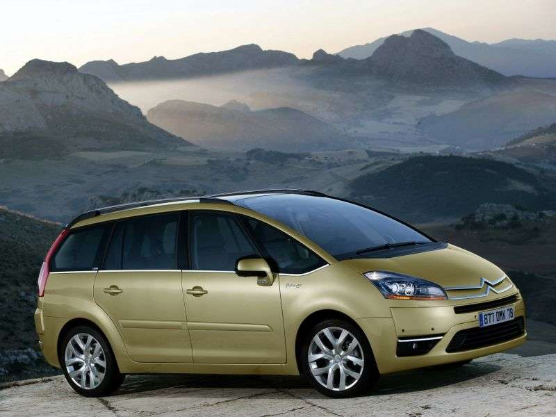 Citroen C4 Picasso 1st generation Grand 5 in minivan minivan 1.6 THP AMT Exclusive (2006–2011)