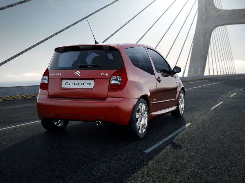 Citroen C2 1st generation [restyled] hatchback 1.4 HDi AT (2008–2009)