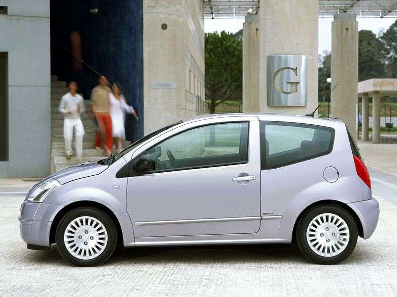 Citroen C2 1st generation hatchback 1.6 AT (2003–2008)