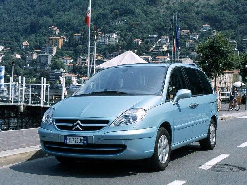 Citroen C8 1st generation minivan 2.0 HDI MT (2002–2008)
