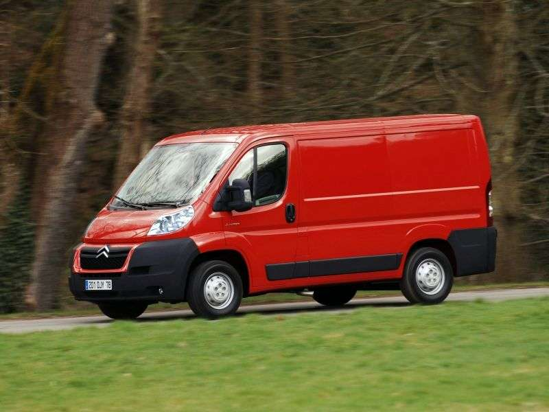 Citroen Jumper 2nd generation van 2.2 Hdi MT FgTi30 L1H1 Basic (2012) (2006 – n.)