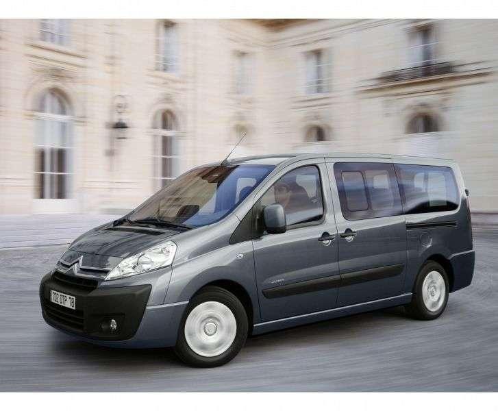 Citroen Jumpy 2nd generation minivan 1.6 HDI MT L2H1 Basic (2013 – v.)