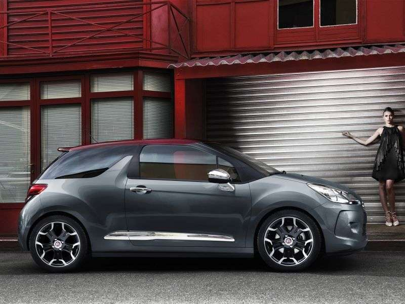 Citroen DS3 1st generation hatchback 1.6 VTi AT 3D (2010 – n.)