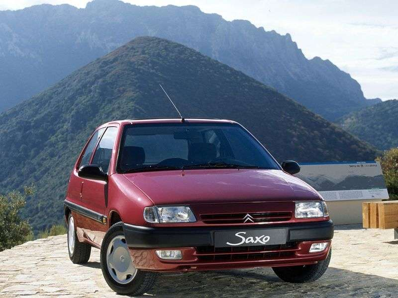 Citroen Saxo 1st generation 1.6 MT hatchback (1996–1999)