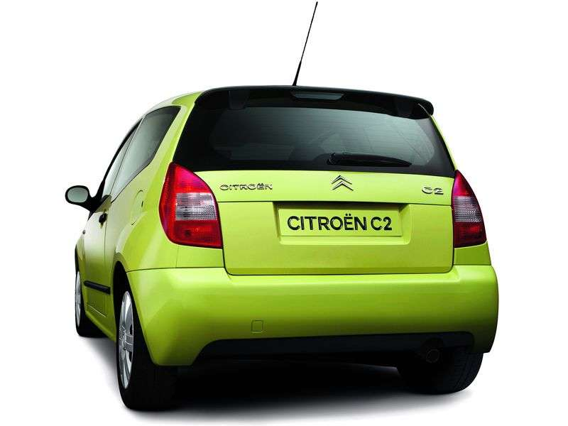 Citroen C2 1st generation 1.1 MT hatchback (2003–2008)