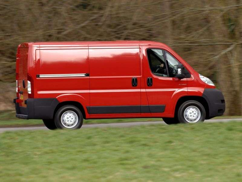Citroen Jumper 2nd generation van 2.2 Hdi MT FgTi30 L1H1 Basic (2012) (2010 – current century)