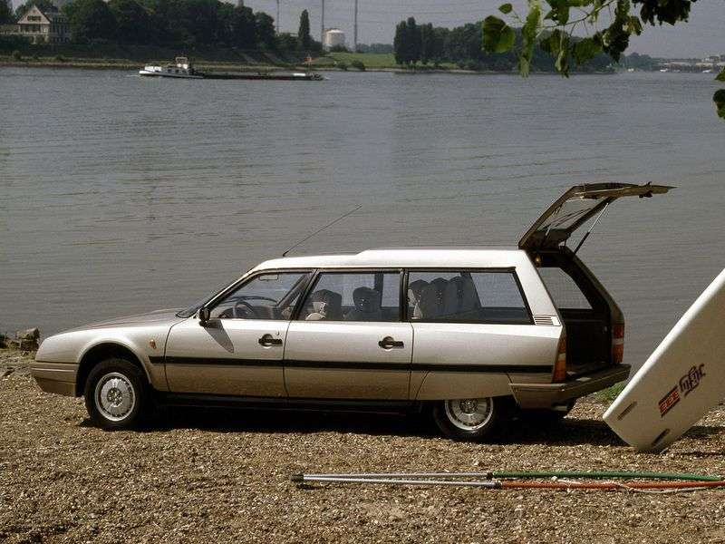 Citroen CX 2nd generation Break wagon 2.5 D MT (1985–1992)