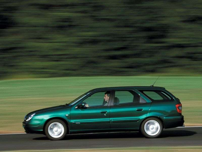 Citroen Xsara 2nd generation Break wagon 1.9 D MT (1998–2004)